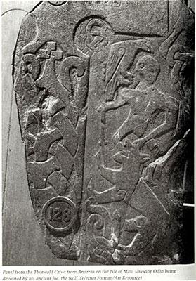 Manx Stone Cross, Andreas 128